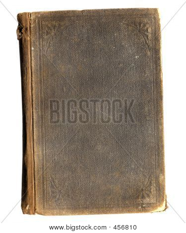 Antique Book: Grunge Brown