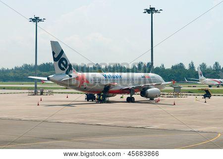 Jetstar Airways Plane In The Airport