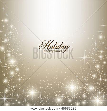 Elegante Weihnachten Hintergrund mit Schneeflocken und Platz für Text.