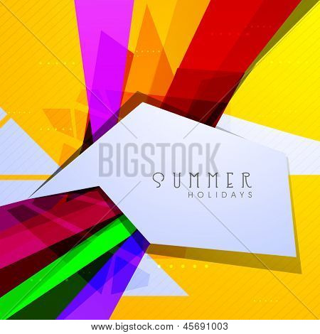 Abstract Summer background.