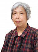 Asian mature woman poster