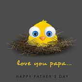 Happy Fathers Day background. poster