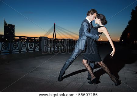 Tango In The Night City