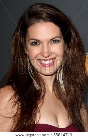LOS ANGELES - DEC 11:  Christa B Allen at the