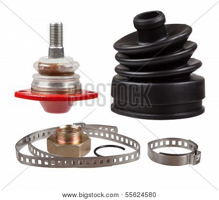 New Auto Parts For Cars. Collage