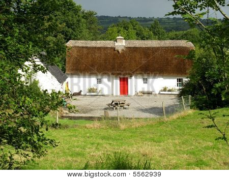 Irish Thatched Cottage