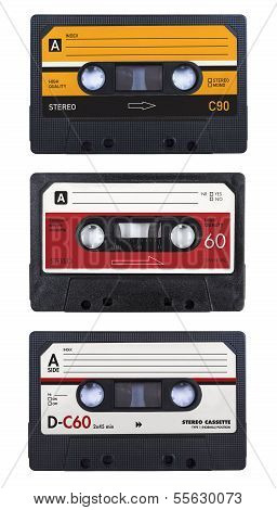 Isolated casette tapes