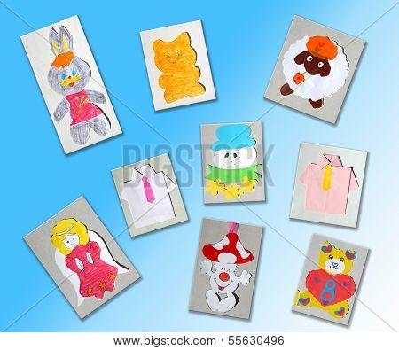 Different Children's Pictures