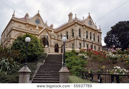 Wellington Parliamentary Library Building, New Zealand