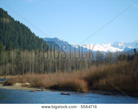 Skagit River In Washington State