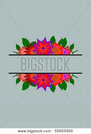 Abstract Background-flower