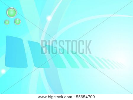 Abstract background- Blue