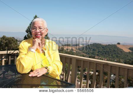 Elderly African American Black Woman