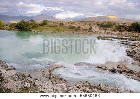 River Cijevna in Montenegro