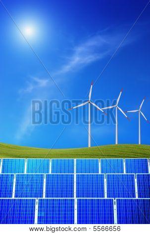 erneuerbare Energien mit sun