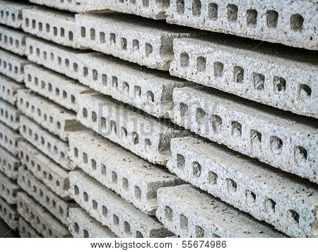 Stack Of Precast Concrete