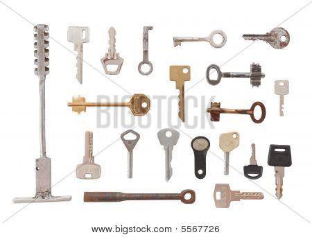 20 Various Keys