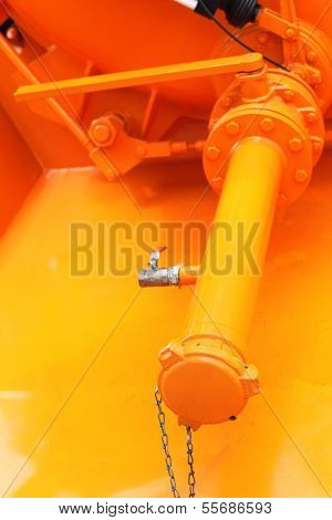 Industrial Metallic Pipe With Screws And Bolts Velves