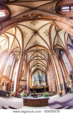 Beautiful Ceiling And Hall In Dome Of Wetzlar