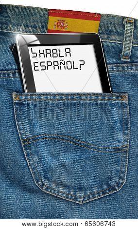 Tablet Computer - Spanish Everywhere