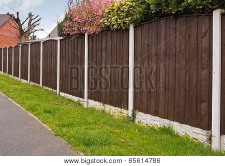 Close Board Fencing Panels