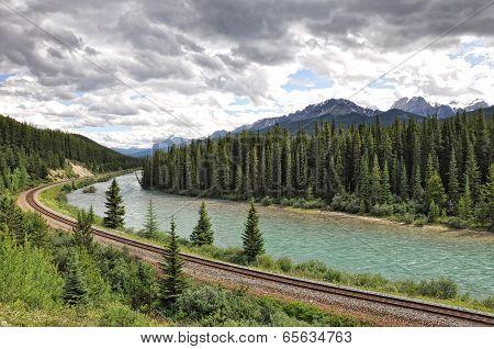 Scenic view in Banff National Park, Alberta