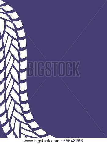 Tire Track Industrial Background