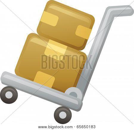 The view of handcart