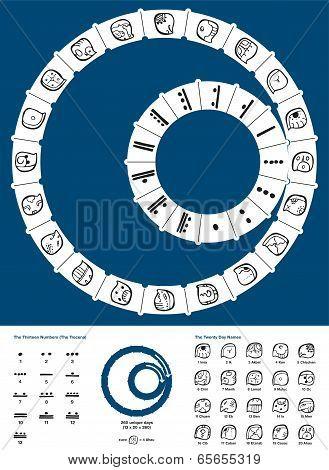 Tzolkin Maya Calendar