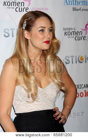 LOS ANGELES - OCT 13:  Lauren Conrad arrives at the Susan G. Komen 'Designs for the Cure' Gala at Millennium Biltmore Hotel on October 13, 2012 in Los Angeles, CA