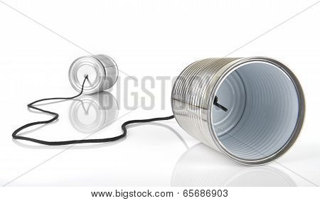 Tin can for communication