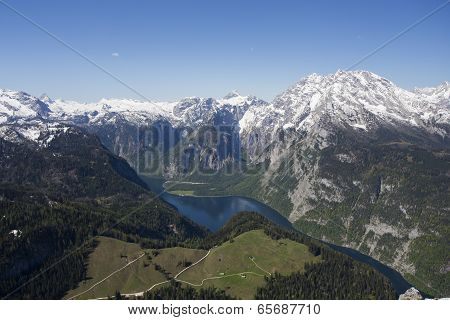 View Of Konigsee From Jenner