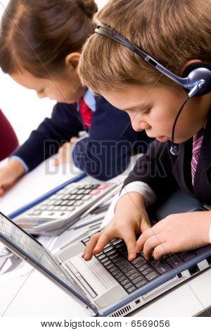 Lad Typing