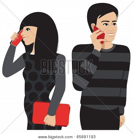 Couple Phone