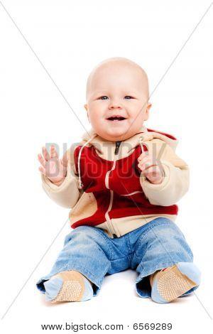 Boy Clapping