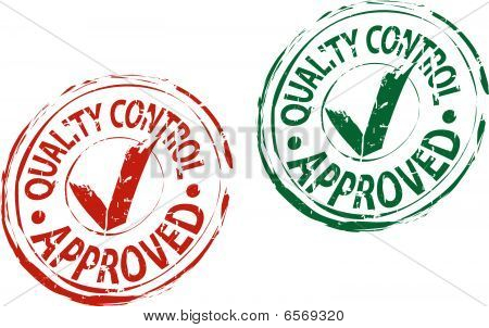 Check approved stamp
