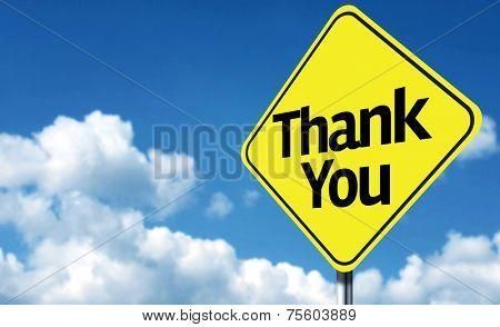 Thank You creative Sign