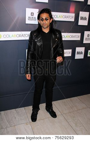 LOS ANGELES - NOV 6:  Adi Shankar at the Battersea Power Station Global Launch Party at the Milk Studios on November 6, 2014 in Los Angeles, CA