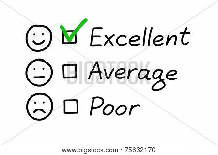 Excellent Customer Survey
