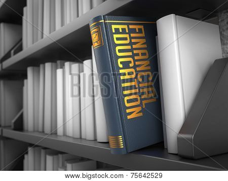 Financial Education - Title of Book.