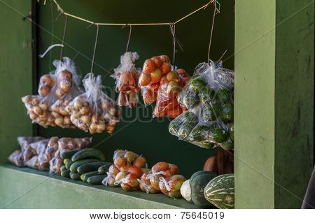 Marketplace View From Palacaguina, Nicaragua