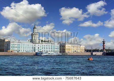Kunstkammer Museum In Saint Petersburg, Russia