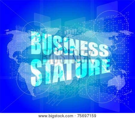 Business Stature Interface Hi Technology
