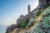 Cathedral Sant Antonio Abate in Castelsardo - Sardinia,Italy poster