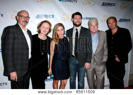 LOS ANGELES - MAR 16: Terry O'Quinn, Kate Burton, Brittany Snow, Patrick Fugit, Stacy Keach, Chris Bauer at the