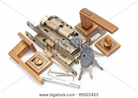 Door Handles, Locks And Keys