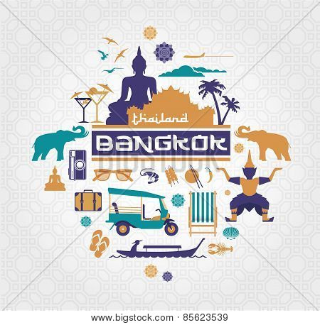 Bankok city item set