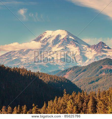mt.Rainier in Washington,USA