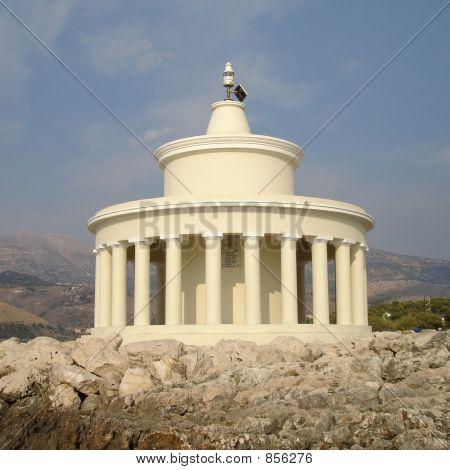 Lighthouse in Kefalonia Greece