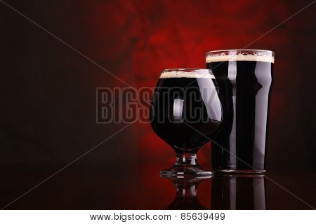Dark Stout Beer